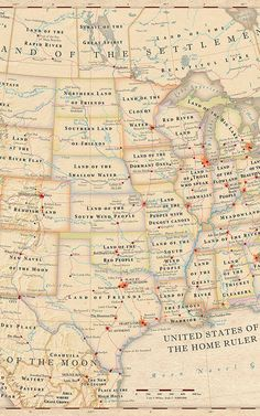 Map: State Names Literal Meaning