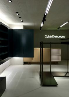 Calvin Klein Jeans Hong Kong by Vincent Van Duysen Architects