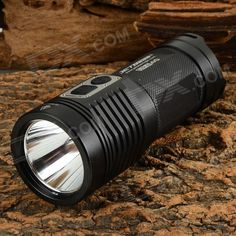 JETBeam SRA40 960lm 3-Mode Cool White LED Flashlight - Black (4 x AA). Reverse polarity protection function; Power indicator light function. Tags: #Lights #Lighting #Flashlights #LED #Flashlights #AA #Flashlights