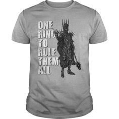 One Ring to Rule them All Gift Shirt #hoodie #ideas #image #photo #shirt #tshirt #sweatshirt #tee #gift #perfectgift #birthday #Christmas #game #movies