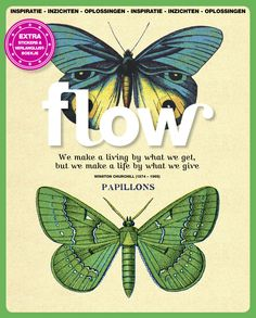 Flow Magazine - Magazine for paper lovers Magazine Illustration, Love Illustration, Magazine Art, Magazine Covers, Butterfly Quotes, Printable Paper, Design Crafts, Pattern Design, Words