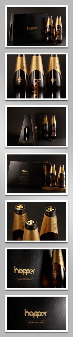 Hopper Belgian Beer (Student Work) / #beer