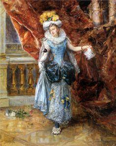 Eduardo Leon Garrido (1856 – 1949) – Pintor Espanhol_3