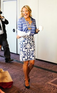 Kate Hudson - The art of mixing prints