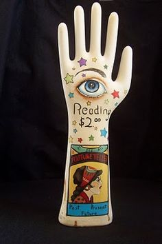 """Would love to have a """"palm reader"""" can't say she will be real lol"""