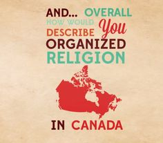 """""""Bottom line Canadians are uncertain about  and  but many still claim some important connection to it."""" Here's what's worrying Lorna about the UC survey findings. Religion In Canada, Describe Yourself, No Worries, Connection, Faith, Organization, Blog, Life, Getting Organized"""