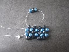 Right Angle Weave would like to try this with just seed beads like this