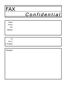 Fax Cover Page Template Free  Leave A Reply Cancel Reply  Fax