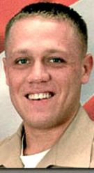 Marine LCpl. Jeffery S. Blanton, 23, of Fayetteville, Georgia. Died December 12, 2004, serving during Operation Iraqi Freedom. Assigned to 1st Battalion, 3rd Marine Regiment, 3rd Marine Division, III Marine Expeditionary Force, Marine Corps Base Hawaii. Died of wounds sustained when hit by enemy small-arms fire while doing a ground sweep for IEDs during combat operations in Fallujah, Anbar Province, Iraq.