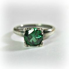 Antique Engagement Rings Green 5