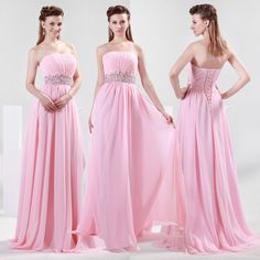 BRIDESMAID Long Wedding Sweetheart Evening Dress Pageant Prom Graduation Gown