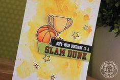 Sunny Studio Stamps - Team Player