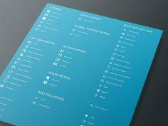 Livescribe App Icons by Kreativa Studio