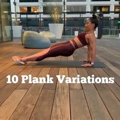 10 different plank exercise, plank workout for women, plank abs workout at home - Fitness - workouts - Fitnesstipps Plank Ab Workout, Ab Workout At Home, At Home Workouts, Dumbbell Workout, Fat Workout, Stairmaster Workout, Gym Core Workout, Crossfit Ab Workout, Core Workout Routine