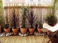 46 balcony garden ideas for decorating your home - angela potts - Dekoration - Balcony Furniture Design Balcony Planters, Small Balcony Garden, Small Balcony Decor, Balcony Railing, Balcony Privacy, Balcony Ideas, Terrasse Design, Balkon Design, Balcony Furniture