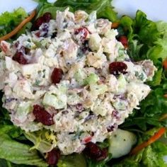Chicken Salad with Apples and Cranberries – 4 SmartPoints
