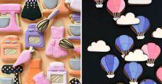 Pestro farebné koláčiky zdobí ilustráciami z polevy. Chrumkavé dobroty tak premieňa na hotové umelecké dielka! Holly Fox pečie koláčiky, sušienky, keksíky