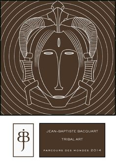 a Tribal Mask Exhibition curated by Gallery JB Bacquart