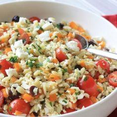 Mediterranean Orzo Pasta Salad l Smart Balance