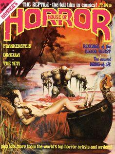 House Of Hammer Magazine (House Of Horror) - Issue 19 (1981)