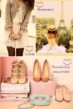 Idéias de looks para as românticas assumidas! YES MIMIMI :) http://nathaliakalil.com.br/yes-mimimi/