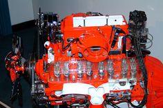 1958 Corvette 283 Fuel Injection Engine Cutaway