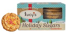 Lucy's Holiday Sugar Cookies - Vegan and Gluten Free Treats, perfect for your next holiday party!