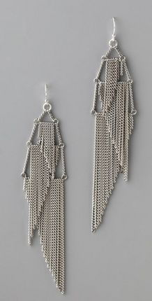 Lee Angel Valerie Earrings by charmaine Wire Earrings, Chandelier Earrings, Wire Jewelry, Jewelry Crafts, Beaded Jewelry, Jewelery, Handmade Jewelry, Fringe Earrings, Angel Earrings