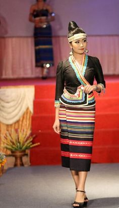Lao fashion show