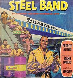Pedrito Altieri's Steel Band* - On Eastern Airlines Caribbean Jets (Number One To The Sun) (Vinyl, LP, Album) at Discogs
