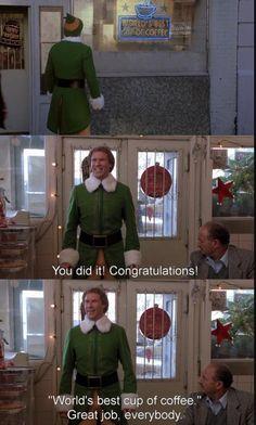 Elf scene! Haha! Xx