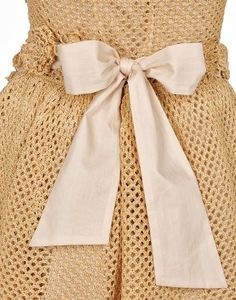 Crochet Dress from Red Valentino