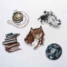 hermione stickers | etsy