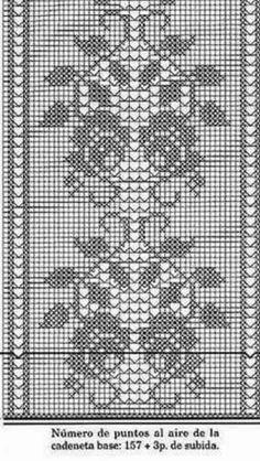 Crochet and arts: Filet crochet wipes Crochet Table Topper, Crochet Table Runner Pattern, Crochet Tablecloth, Crochet Books, Thread Crochet, Crochet Stitches, Filet Crochet Charts, Crochet Diagram, Diy Crafts Crochet
