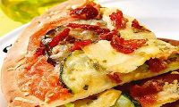 Cantinho Vegetariano: Pizza de Legumes com Tofu (vegana)