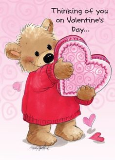 """Suzy's Zoo Valentines Cards of You on Valentines Day"""" 10951 My Funny Valentine, Valentines Day Quotes For Friends, Valentines Day Bears, Valentines Greetings, Vintage Valentines, Valentine Crafts, Happy Valentines Day, Happy Birthday Clip Art, Zoo Art"""
