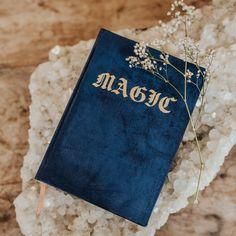 Bullet Journal Aesthetic, Book Aesthetic, Character Aesthetic, Sayaka Miki, Gold Book, Ribbon Bookmarks, Magic Book, Blue Books, Pink Velvet