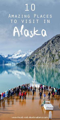 Explore some of the most impressive adventures hidden away in amazing Alaska #alaska Grand Canyon, Alaska Travel, Travel Usa, Alaska Trip, Alaska Highway, Travel Logo, Vacation Destinations, Vacation Spots, Alaska Destinations