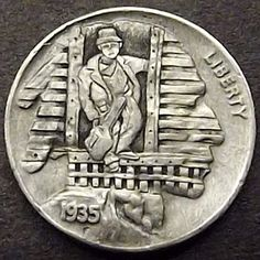 Very Helpful Gold Strategies For gold bullion for sale Old Coins, Rare Coins, Hobo Nickel, Coin Art, American Coins, Old Money, Gold Bullion, Outsider Art, Coin Collecting