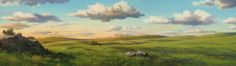 Anime Landscape Grass and cloud wallpaper