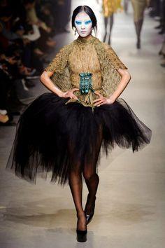 Vivienne Westwood Fall 2013 - deconstructing the tutu