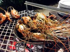 My week in Mauritius – grilled langoustines