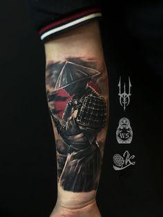 Tattoo Ivan Scherbakov - tattoo's photo In the style Whip Shading, Male, Asian, Warrio Warrior Tattoo Sleeve, Samurai Tattoo Sleeve, Wolf Tattoo Sleeve, Warrior Tattoos, Demon Tattoo, Japanese Tattoo Art, Japanese Sleeve Tattoos, Japanese Warrior Tattoo, Half Sleeve Tattoos Designs