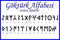 Old Turkish alphabeth from Orhun. – atila bodrumlu Old Turkish alphabeth from Orhun. Old Turkish alphabeth from Orhun. Runic Writing, Turkish Symbols, Camera Basics, Alphabet Code, Turkish Army, Beste Tattoo, Symbolic Tattoos, Sentences, Cool Tattoos