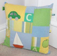 Here come the abc's activity cushion