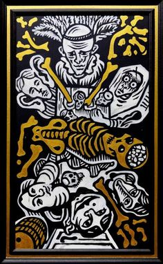 Julo Nagy - Edgar Allan Poe, Kráľ Škodca | ASIL - Asociácia ilustrátorov, o.z.