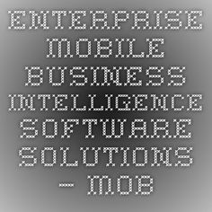 Enterprise Mobile Business Intelligence Software Solutions – Mobiloitte