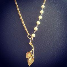 Cadenita con perlas de Swarovski