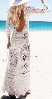 ╰☆╮Boho chic bohemian boho style hippy hippie chic bohème vibe gypsy fashion indie folk the . Vetement Hippie Chic, Moda Petite, Boho Chic, Boho Style, Trendy Style, Crochet Wedding Dresses, Moda Do Momento, Bikinis Crochet, Ibiza Fashion