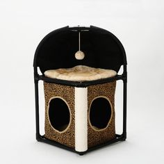 Cat Bed, Tuodas Multifunctional Cat Condo House with Scratching Posts Kitty Toys Assemble Pet Bed Play House >>> You can get more details by clicking on the image. (This is an affiliate link) Cat Tree Condo, Cat Condo, Cat Climbing Tree, Cat Activity, Scratching Post, Sisal, Cat Toys, Multifunctional, Pet Supplies